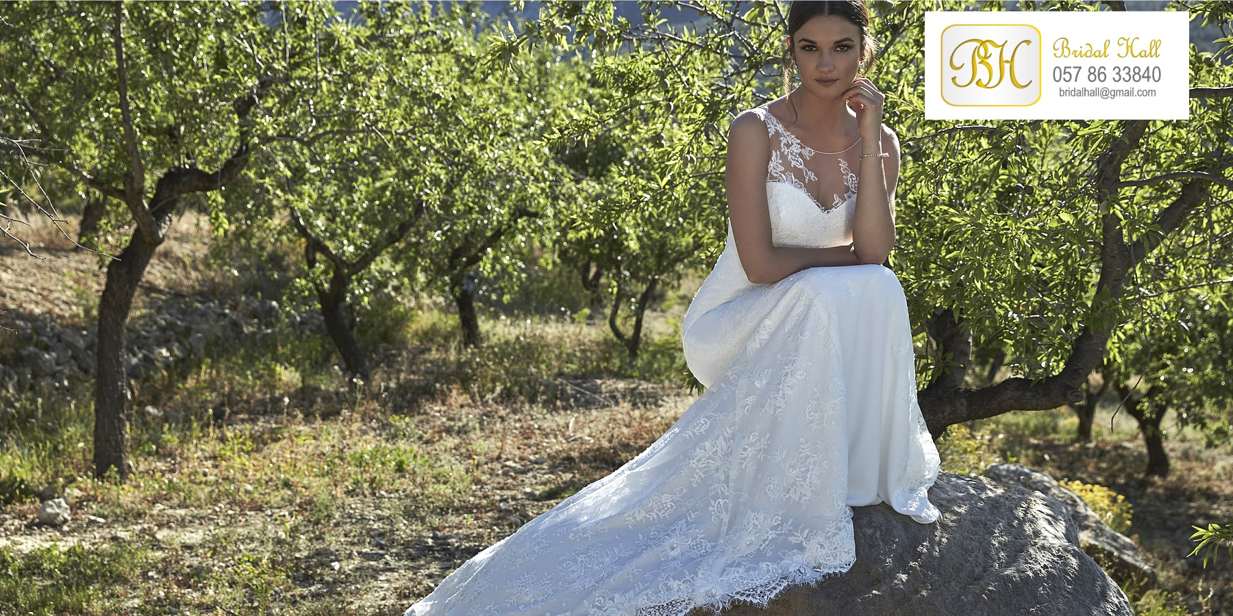 Bridal gowns, weddings dresses and accessories from Bridal Hall, Ballybrittas, County Laois, Midlands, Ireland