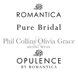 We stock Romantica, Opulence, Phil Collins, Oliva Grace & Pure bridal gowns and bridesmaid dresses - along with a range of accessories to complement your wedding gown - Bridal Hall, Ballybrittas, County Laois, Midlands, Ireland